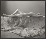 The Metropolitan Museum of Art  [Nude Young Girl Reclining on Drop