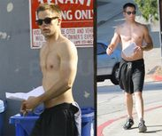 thequeerofallmedia:Chris Pine Shirtless because i feel it post