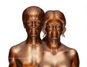 bieber selena gomez naked sculpture Justin Bieber & Selena Gomez