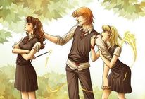 Hermione and Ron Fanart  Hermione Granger Fan Art (9556256)  Fanpop