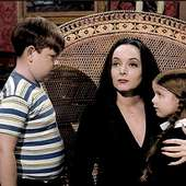 Lisa Loring, Ken Weatherwax, And Carolyn Jones - Carolyn Jones