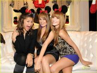 Bella Thorne Bella Thorne,Zendaya Coleman,And Debby Ryan At The Minnie