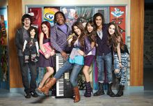Image  Victorious cast at Hollywood Arts jpg  Victorious Wiki