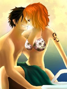One Piece Nami x Luffy
