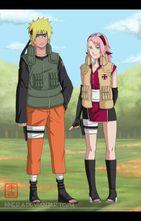 Naruto and Sakura  Naruto Shippuuden Photo (30391533)  Fanpop