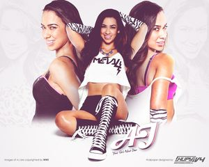 AJ Lee - WWE Wallpaper (30746315) - Fanpop fanclubs