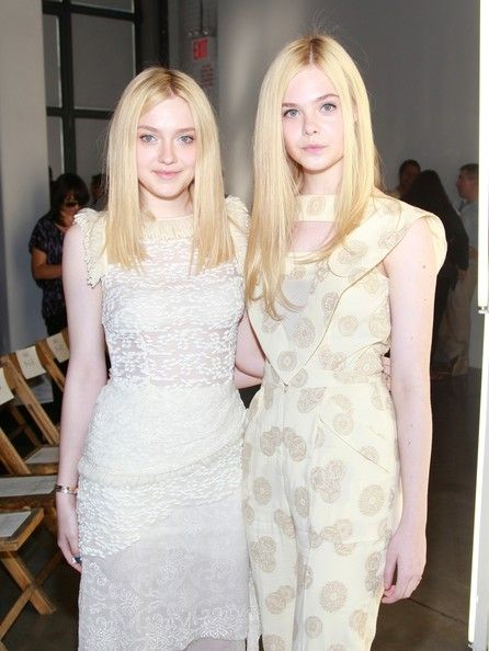 Dakoda And Elle Fanning