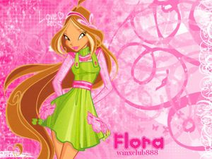 Flora wallpaper - The Winx Club Wallpaper (32500614) - Fanpop fanclubs