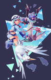 Skyla  Pokemon Skyla Fan Art (34128036)  Fanpop fanclubs