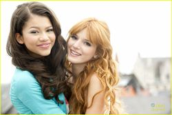 Zendaya Coleman and Bella Thorne? Zendaya and Bella
