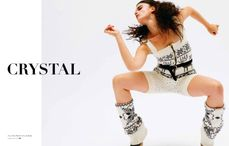 crystal renn1 Crystal Renn for The Block Fall 2010 by Skye Parrott