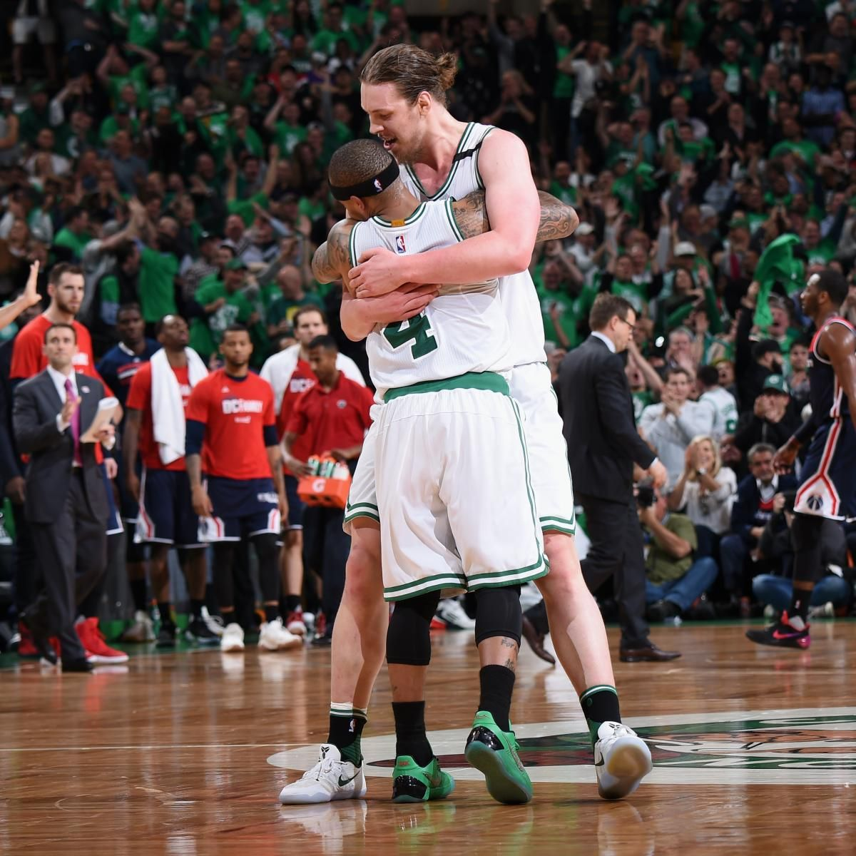 Isaiah Thomas, Celtics Beat Wizards in Game 7, Will Face LeBron James, Cavaliers - Bleacher Report