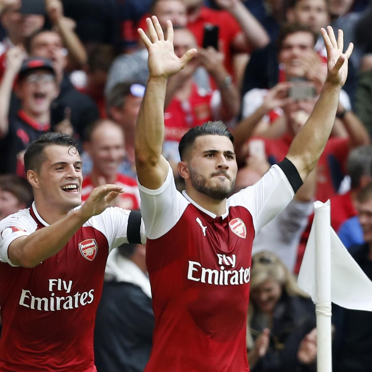 Arsenal Defeat Chelsea to Win 2017 English FA Community Shield After Shootout - Bleacher Report