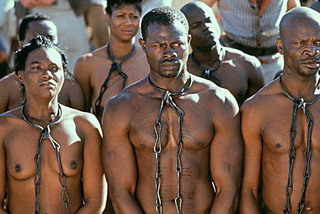 A White Slave Under Black Feet