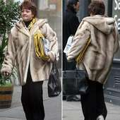 Oh Bear! Anne Diamond Takes Style Tips From A Cuddly Toy | Mail