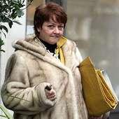 Furry Lady: Anne Diamond Looks Like A Giant Bear As She Leavesthe BBC