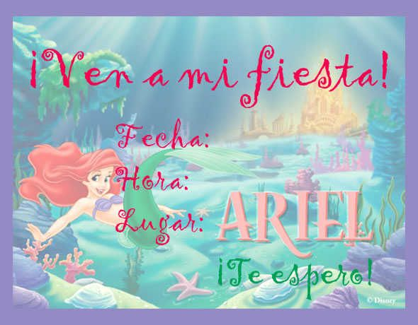 Ariel Shower With Me
