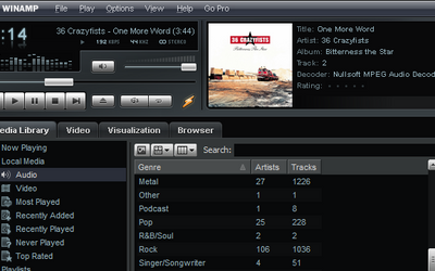 Winamp, Our Favorite Media Player ...