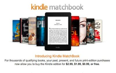 Amazon's Kindle Matchbook Offers Cheap ...