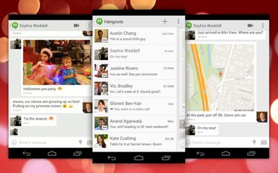 Google Hangouts Adds SMS Support, ...