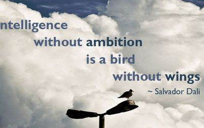 """Intelligence Without Ambition Is a ..."