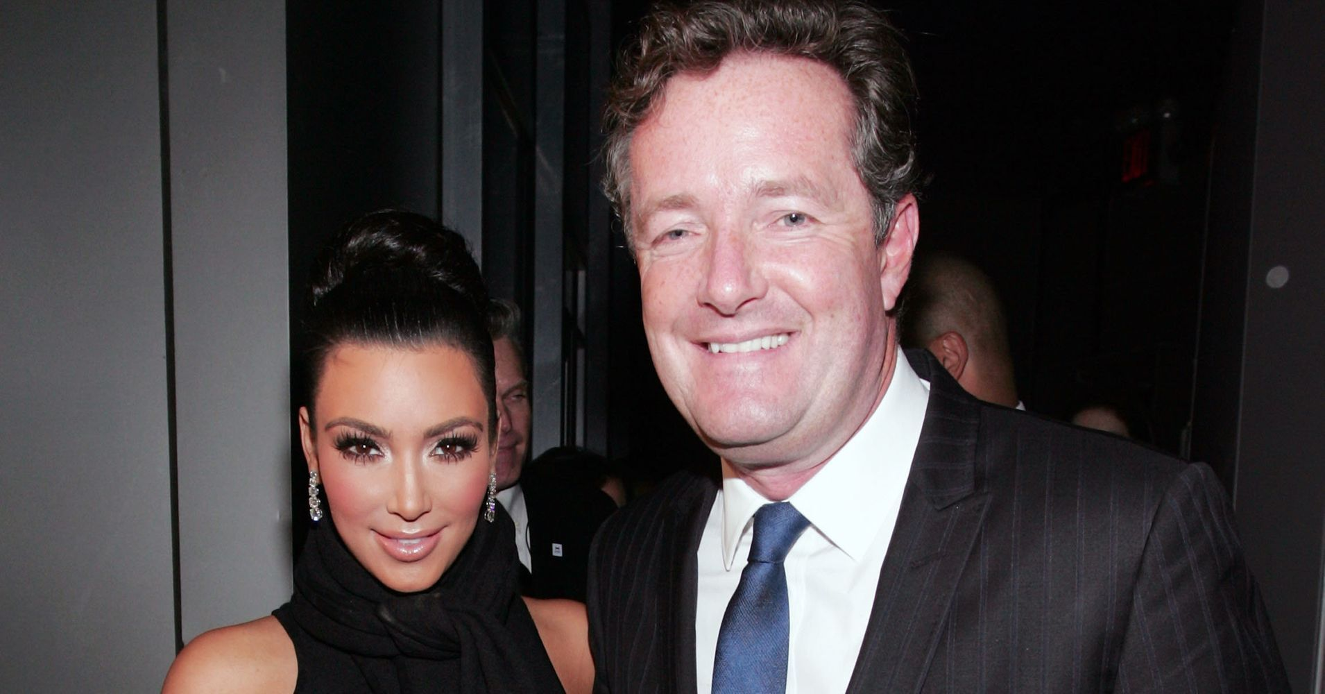 Piers Morgan Needs To Stop This Weird Crusade To Destroy Kim Kardashian - Huffington Post