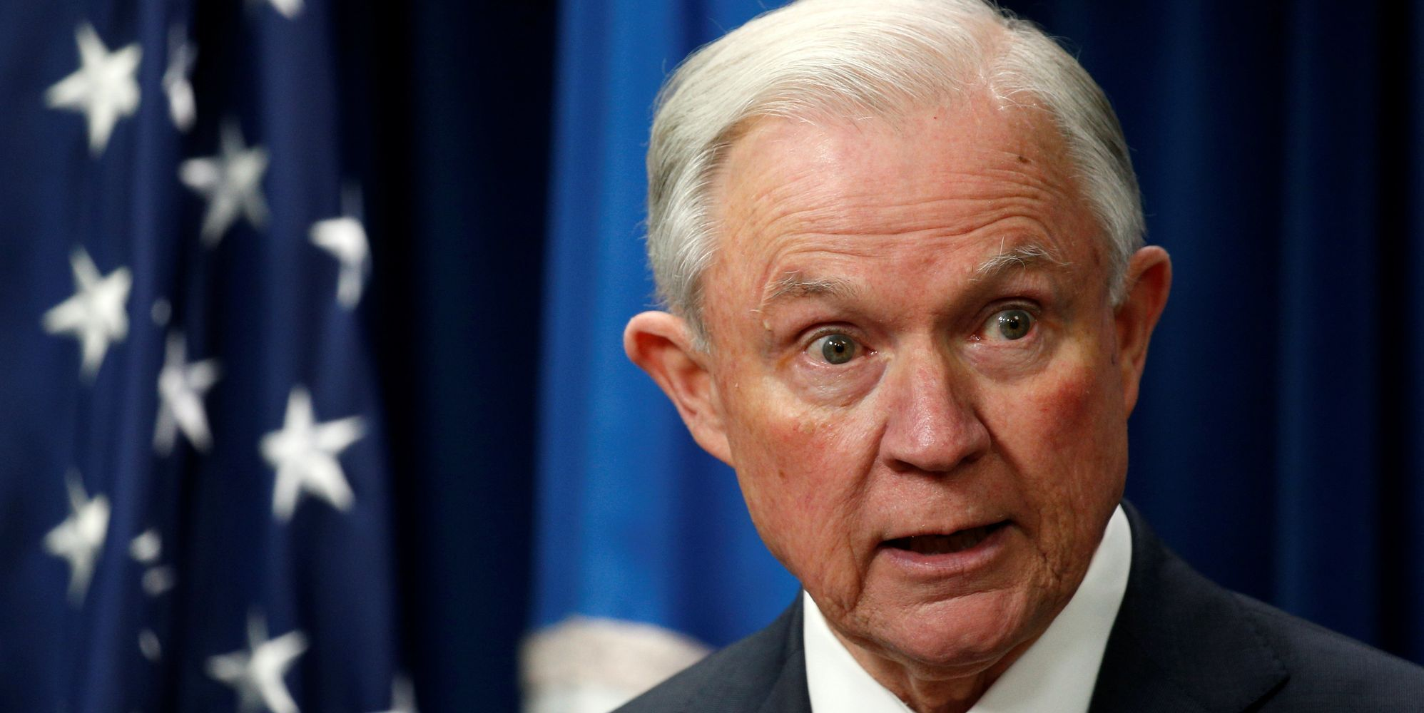 Jeff Sessions Marvels At How A Judge 'On An Island In The Pacific' Could Stall Travel Ban