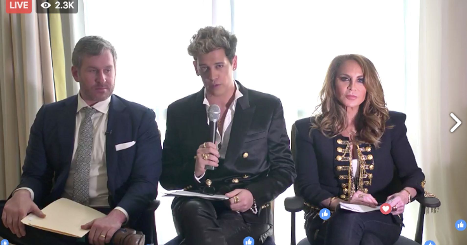 In Sad, Sad Press Conference, Milo Says 'Free Speech Week' Is Now Just One Measly Rally - HuffPost