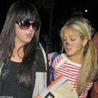 actress Natalie Cassidy and zlist Big Brother star Nikki Grahame