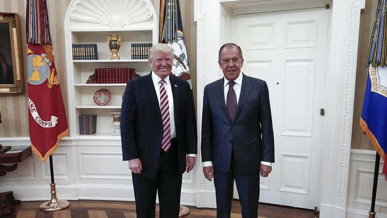 Comey's dismissal not discussed at meeting with Trump – Lavrov