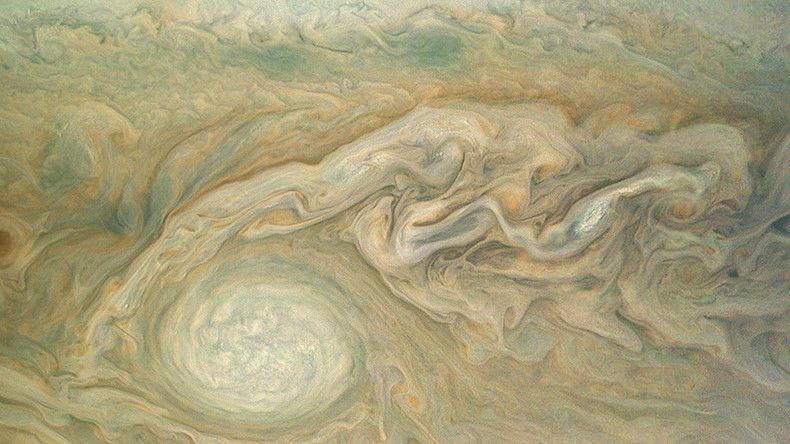 Nasa probe Juno completes latest flyby of gas giant Jupiter (PHOTOS)