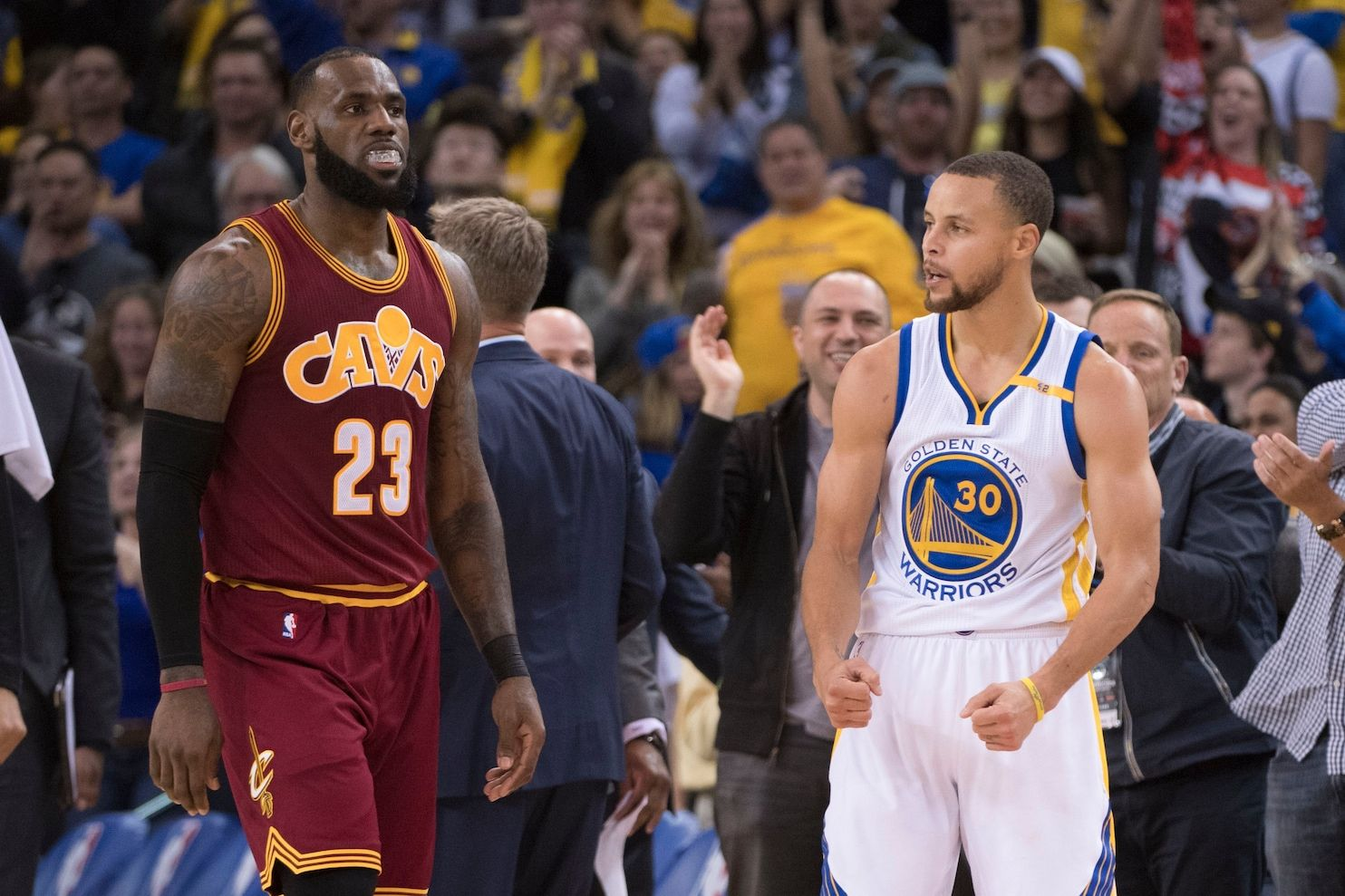 The Cavaliers will face the Warriors in the 2017 NBA finals. And 2018. And 2019 … - Washington Post