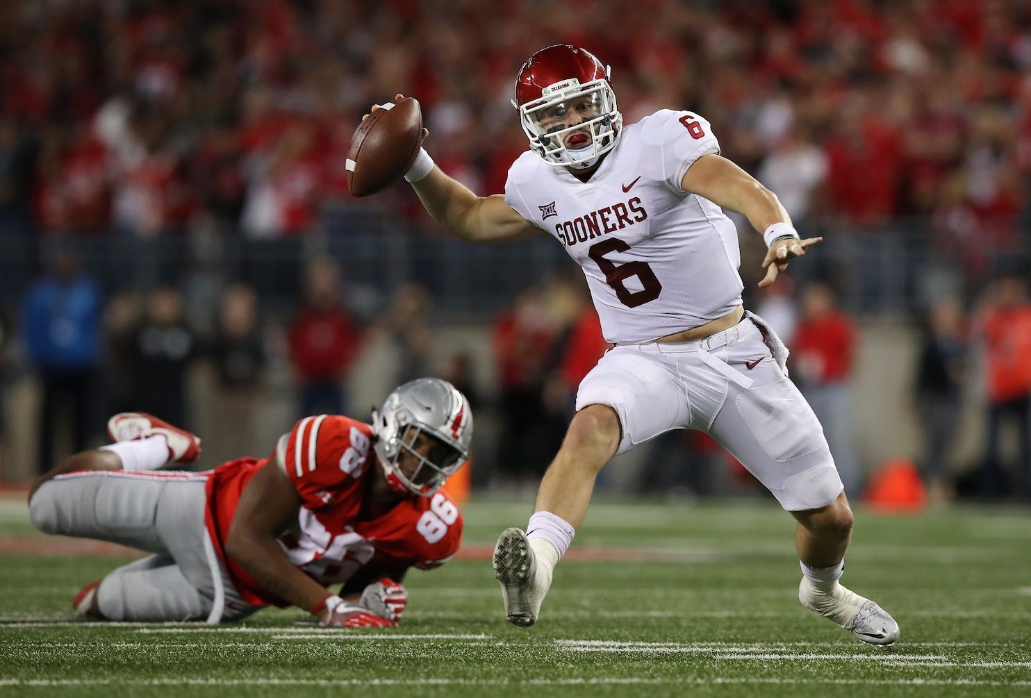 College football winners and losers: Oklahoma's win is huge for Baker Mayfield and Big 12 - Washington Post