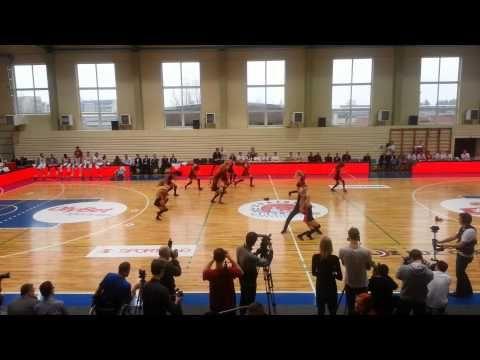 LBL Zvaigžņu spēles 2014 karsējgrupu konkursa deja nr.1.