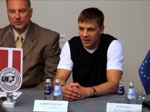 Handbola izlases preses konference (10.06.2013)
