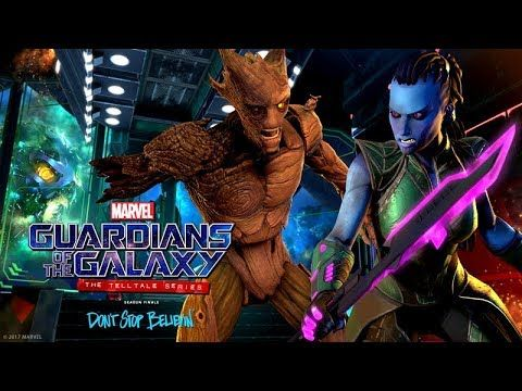 Guardians of the Galaxy ? Episode 5: Don't Stop Believin' ? Game Movie / All Cutscenes (Telltale)