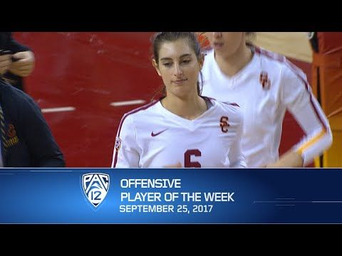 USC's Brittany Abercrombie named Pac-12 Women's Volleyball Offensive Player of the Week