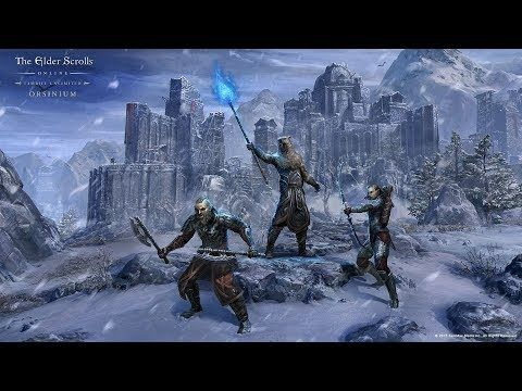 The Elder Scrolls Online: Tamriel Unlimited ? Orsinium ? Game Movie (Story Walkthrough)