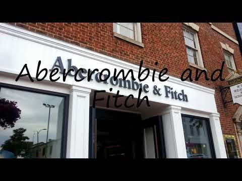 How to Pronounce Abercrombie and Fitch?