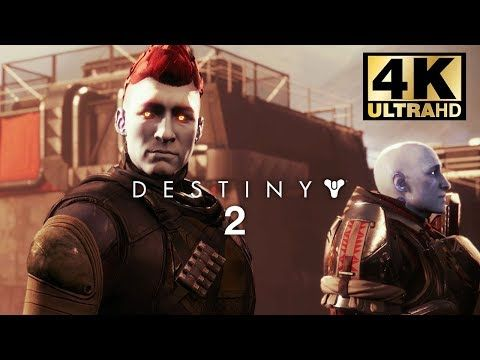 DESTINY 2 4K Game Movie (All Cutscenes) Ultra HD 60FPS