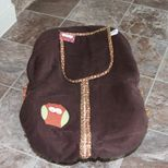 How Now Brown Owl Car Seat Cover by lollitots on Etsy