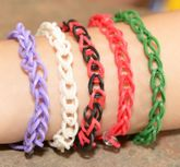 Rainbow Loom Rubberband Rubber Band Single Friendship Bracelet