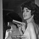 Suzy HomeMaker Nude Cleaning by HooperPix on Etsy