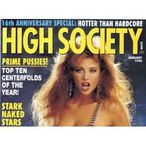 HIGH SOCIETY (JANUARY 1992 JULIA PARTON): HIGH SOCIETY MAGAZINE: Books
