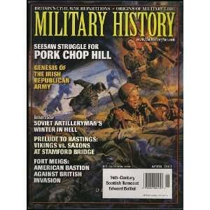 Military History Magazine (April 2003) (Pork Chop Hill