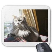 Siberian Cat Mouse Pads and Siberian Cat Mousepad Designs