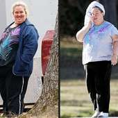 Mama June, Before (left) And After