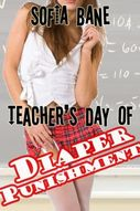 Teacher's Day of Diaper Punishment (Lesbian Wetting, Ageplay, Diapers