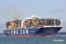 CMA CGM LAPEROUSE (IMO: 9454412, MMSI: 228345800, Callsign: FLTH) ship