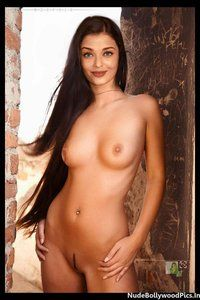 Aishwarya Rai Nude Showing her Boobs and her Shaved Pussy [Fake